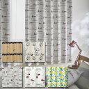 【PEANUTS】ピーナッツ オーダーカーテン 日本製 遮光 ウォッシャブル 形態安定加工