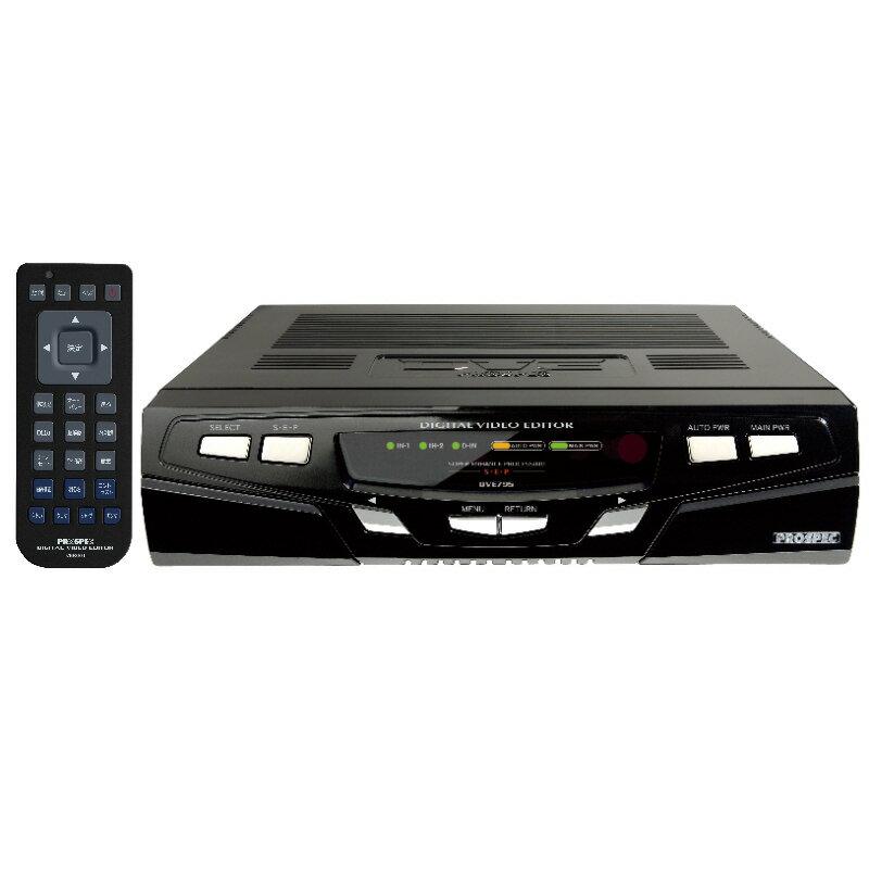 即納★送料無料!★フラッグシップモデル ピアノブラックのデジタルビデオ編集機 DVE795