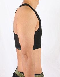 メール便送料無料補正下着メンズ超シェイプアップメンズスポーツブラMens/男性用/姿勢補正/美姿勢/ブラジャー/スポブラ/胸囲/ブラック/グレー/ベージュ/S/M/XL