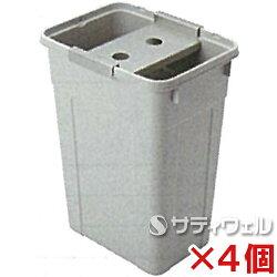【送料無料】テラモト吸水ローラー用絞りバケツ約45LCE-892-420-04個セット【HLS_DU】