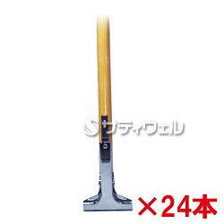 【送料無料】【直送専用品】アプソンメンテナンスハンドル(三つ爪)1350木柄Art.350124本セット