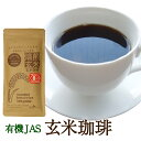 有機 玄米珈琲 100g ノンカフェイン 妊婦さんもOK 西尾製茶 無添加 国産 JAS有機認