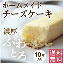 送料無料 鹿児島県産 スティックチーズケーキ10本セット