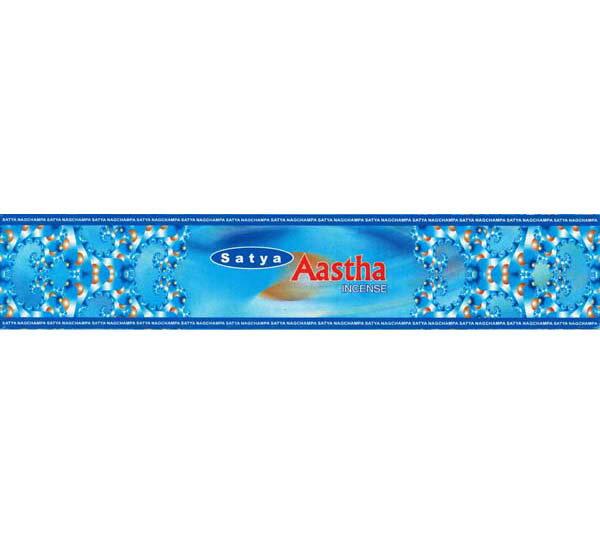【お香】Satyaアースタ15g/Aastha 15g/アースタ香/インド香