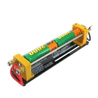 ★ストレートバッテリーホルダー(単三・2セル) 充放電用ジグ ミニ四駆2505-2AA