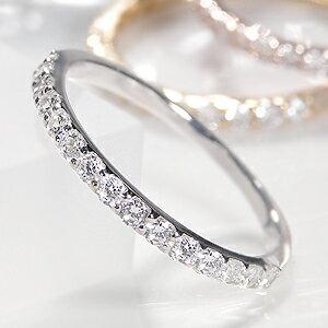 ファッション ジュエリー アクセサリー レディース ホワイト ゴールド ダイヤモンド エタニティ