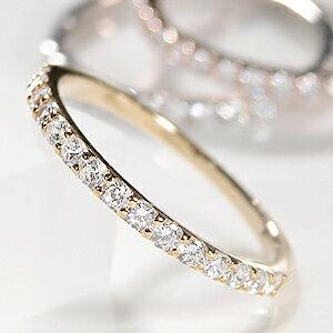 ファッション ジュエリー アクセサリー レディース イエロー ゴールド ダイヤモンド エタニティ