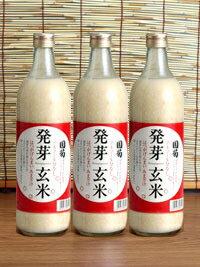 国菊 発芽玄米 甘酒 720ml瓶 12本セッ...の紹介画像2