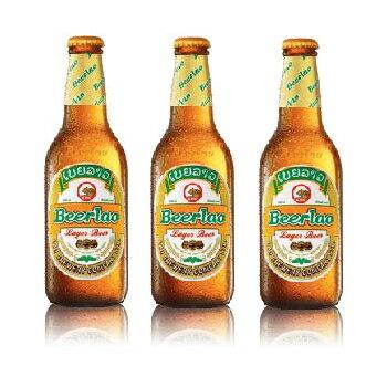 【ラオスビール】ビアラオ ラガー beerlao lager 330ml瓶 24本セット【ラオ ブルワリー社】【正規輸入品】【送料無料】