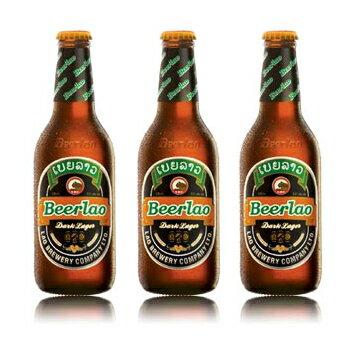 【ラオスビール】ビアラオ ダーク beerlao dark 330ml瓶 24本セット【正規輸入品】【ケース販売】【送料無料】【ラオ ブルワリー社】