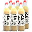 若竹屋 八穀あまざけ 720ml瓶×6本セット 米麹 甘酒 砂糖不使用 ノンアルコール【倉庫A】