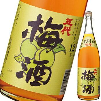 リキュール/梅酒 本格芋焼酎造り 五代梅酒12度...の商品画像