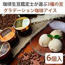 KIHEICAFE グラデーション珈琲アイス 3種各2個セット【ライトロースト、マイルドロースト、ストロングロースト】