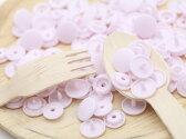 【プラスチックスナップボタン(T-5)30組(12mm/ピンク)】ハンドプライヤー】手芸材料/プラスチック製/ボタン/取り付け方/かわいい