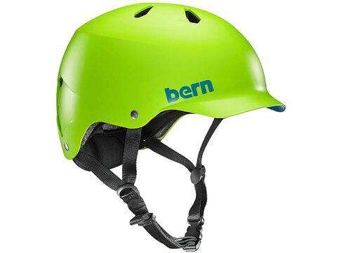 バーン bern - WATTS ワッツ MATTE BRIGHT GREEN BE-VM5MNGR 黄緑 自転車 スケートボード BMX ピスト ヘルメット 【smtb-m】