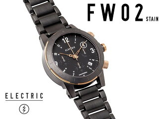 �ڹ��������ʡ�ELECTRICWATCHCOLLECTION-FW02SSALLBLACK/COPPER���ƥ�쥹������֥�å�/���åѡ����쥯�ȥ�å��ӻ���