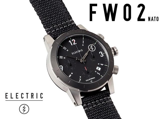 【国内正規品】 ELECTRIC WATCH COLLECTION - FW02 NATO BLACK エレクトリック 腕時計 【smtb-m】 【国内正規取扱店】【メーカー5年間保証付】【送料無料】