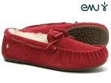 �ڹ��������ʡ� emu australia - ���ǥ������� �����ܸ��ꥫ�顼�� ���ߥƥ��� RED ��å� Women's AMITY shoes ���塼�� ���ߥ塼�������ȥ�ꥢ ��smtb-m��