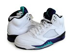 "ナイキ NIKE AIR JORDAN 5 RETRO ""GRAPE"" BLACK/COOL GREY-WHITE ジョーダン5 レトロ グレープ"