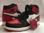 "ナイキ NIKE エアジョーダン 1 OG NIKE AIR JORDAN 1 RETRO HIGH OG ""BRED TOE"" gym red/black-summit white 555088-610"