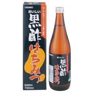 【期間限定】おいしい黒酢はちみつ 720mlボトル(飲みやすい清涼飲料水)【HLS_DU】【RCP】P15Aug15