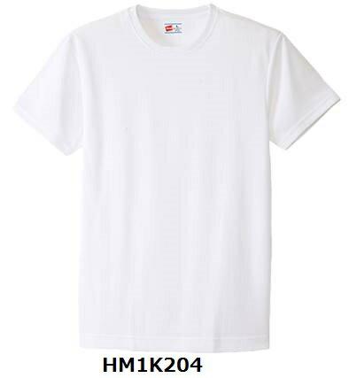 ★数量限定のお買い得★ ヘインズ【Hanes】 部活魂クルーネック 半袖Tシャツ 吸汗速乾 HM1K204