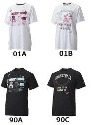 ★お買い得40%OFF★ アシックス【asics】 バスケットボール W'sプリントTシャツHS  XB966N