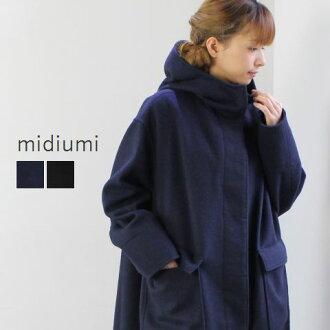 日本 4-771551-f midiumi (中等) 連帽外套 2color