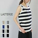 ●●LAITERIE(レイトリー)ふわふわ天竺ノースリーブ 8colormade in Japan pct-21a-p