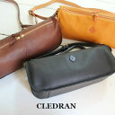 CLEDRAN (クレドラン)OBLON2WAY SHOULDER 3colormade in Japan cl-2339-m