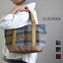 【 P20倍 】期間限定 CLEDRAN (クレドラン)HARRIS TWEED SERIESRENCO TOTE /S 3color made in japa...