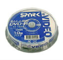 SPARK アナログ録画用 DVD-R 120分(10枚入)SP DVR120 4X WB10_Outlet
