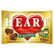 【訳あり 大特価】 賞味期限:2017年1月31日 不二家 ハートチョコレート(アーモンドクリスプ)12枚入 チョコレート