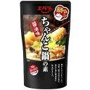 【訳あり】 賞味期限:2019年1月17日 エバラ ちゃんこ鍋の素 醤油味 (750g) 3~4人前 ストレートタイプ