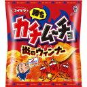 【訳あり】 賞味期限:2018年9月15日 湖池屋 カチムーチョ チップス 炎のウィンナー (50g) スナック菓子