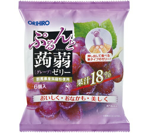 【※SCB】 オリヒロ ぷるんと蒟蒻ゼリーパウチ...の商品画像
