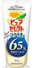 AJINOMOTO 味の素 ピュアセレクト コクうま 65%カロリーカット(360g) 【ピュアセレクトマヨネーズ】 ローカロリー