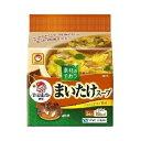店内全品ポイント10倍〜【ya】 マルちゃん 雪国まいたけ使用 まいたけスープ(4.8g×5食入)