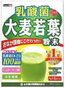 山本漢方 乳酸菌 プラス 大麦若葉 粉末 (4g×15パック) 青汁