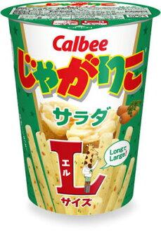 貨架 2017/1/12 Calbee jagariko L 大小沙拉 (72 g) 期間有限零食糖果零食