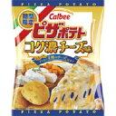 【訳あり】 賞味期限:2019年2月28日 カルビー ピザポテト コク濃チーズ味 (60g)