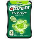 【訳あり】 賞味期限:2020年10月31日 クロレッツ キャンディ ミントライム (14.4g) 菓子