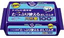 店内全品ポイント10倍〜アクティ トイレに流せる たっぷり使えるおしりふき(100枚入) 無香料