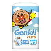 【特価】 ネピア Genki ! (げんき!) パンツ Lサイズ (44枚入) 紙おむつ