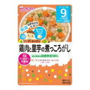 [A] 和光堂 グーグーキッチン 鶏肉と里芋の煮っころがし 9ヵ月~(80g) 離乳食