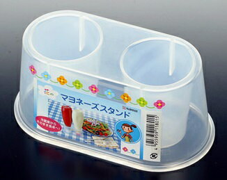 【scb※】 花のマヨネーズスタンド K180 冷蔵庫収納 【O】