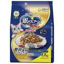 【J】 ユニ・チャーム 銀のスプーン 贅沢素材バラエティ まぐろ・かつお・白身魚 (1.1kg)