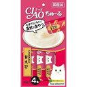 【J】 いなば CIAO(チャオ) チャオ ちゅーる とりささみ&甘えび(14g×4本入)