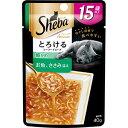 【訳あり】 シーバアミューズ 15歳以上 とろけるシーフードスープ 細かめ お魚 ささみ添え (40g) 高齢猫用 キャットフード