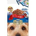 【訳あり】 コンボ プレゼント ドッグドライ ビーフと小魚味 (50g×8袋入) 成犬用 ドライ ドッグフード